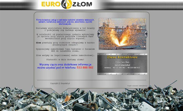 strona www Eurozłom