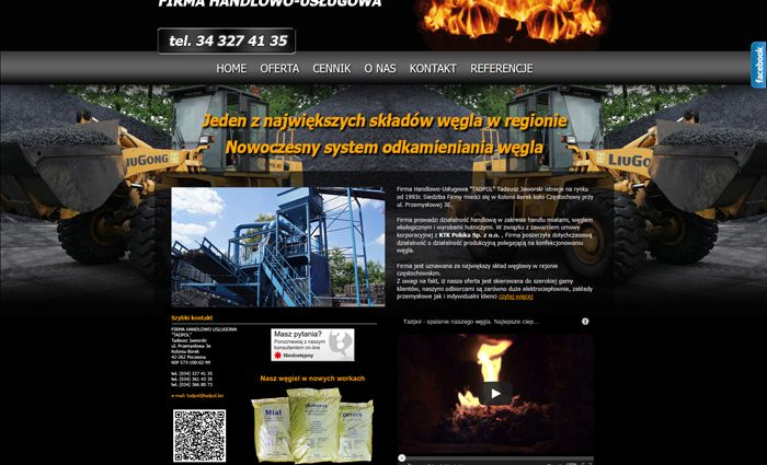 strona www Tadpol